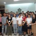 Giao lưu giữa Tu nghiệp sinh về nước với học viên đang học tại Trung tâm Nhật ngữ ISSHIN