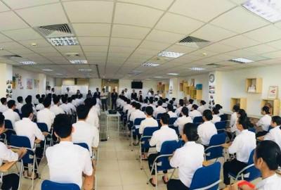 CÁ CHÉP VƯỢT VŨ MÔN: Phỏng vấn chính thức DHS cho học bổng ISSHIN – ASAHI (21/10/2018)