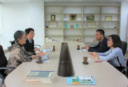 Trường Đại học Việt Nhật đến thăm và làm việc với Công ty cổ phần ISSHIN về việc triển khai Chương trình đào tạo giáo viên dạy tiếng Nhật tại Việt Nam