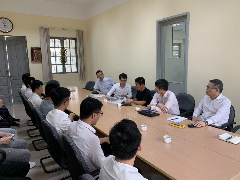 Doanh nghiệp Nhật Bản gặp gỡ trường đại học Xây dựng và Bách Khoa