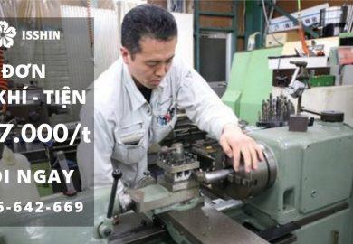 Tuyển dụng Thực tập sinh Nhật Bản THÁNG 5/2019: Đơn hàng nhiều, ngành nghề tốt, thu nhập cao!!!