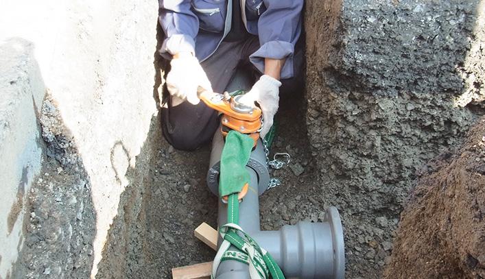 Đơn hàng lắp đường ống nước tại Nhật Bản