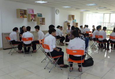 Buổi hội thoại tình nguyện tại ISSHIN