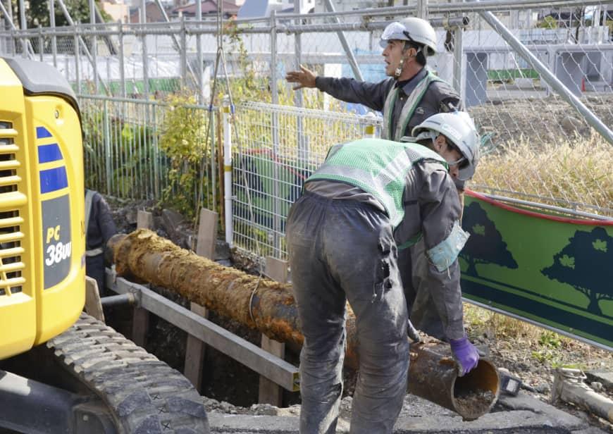 Đơn hàng lắp đường ống nước Nhật Bản