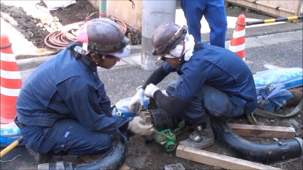 Đơn lắp đường ống nước Nhật Bản